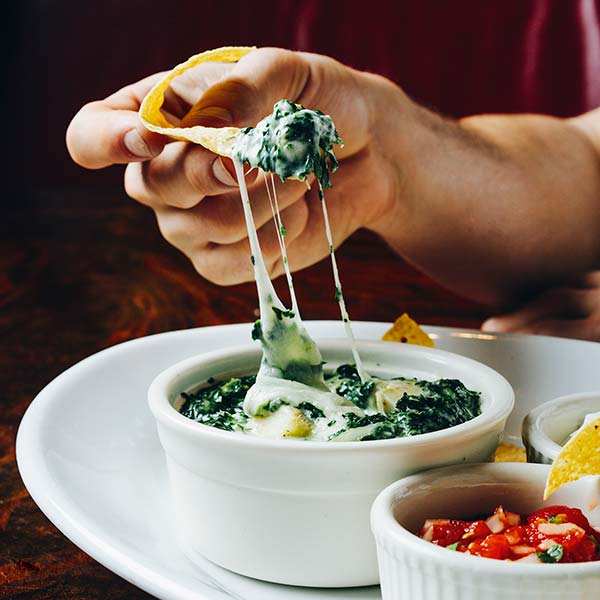 Chicago-style spinach dip